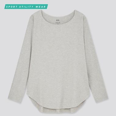 AIRism Camiseta Larga Sin Costuras Mujer