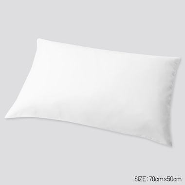 Airism Standard-Size Pillowcase (1pc) (Online Exclusive), White, Medium