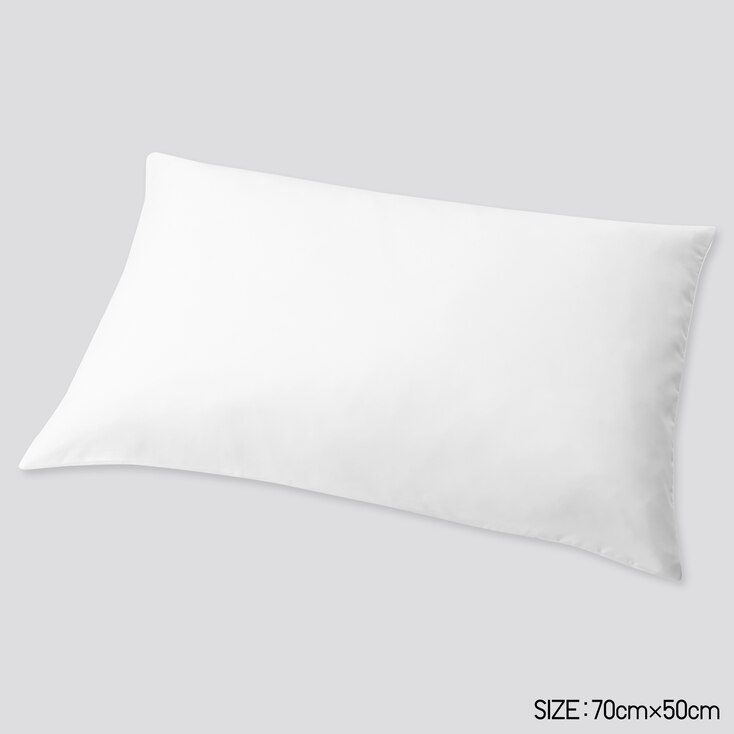 Airism Standard-Size Pillowcase (1pc) (Online Exclusive), White, Large
