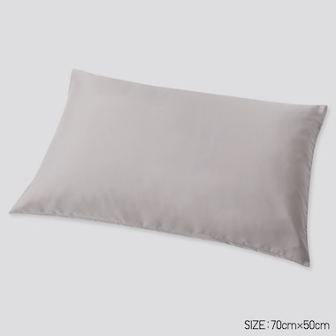 Airism Standard-Size Pillowcase (1pc) (Online Exclusive), Gray, Medium