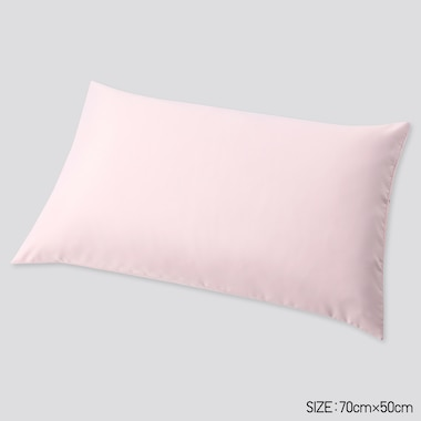 Airism Standard-Size Pillowcase (1pc) (Online Exclusive), Pink, Medium