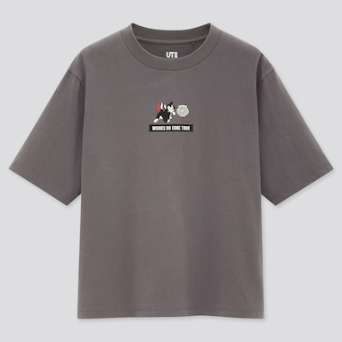 Women Disney Furry Friends Ut (Short-Sleeve Graphic T-Shirt), Dark Gray, Medium