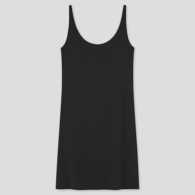 Women Airism Sleeveless Slip (Online Exclusive), Black, Medium