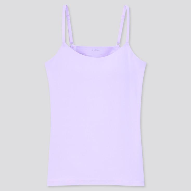 Women Airism Bra Camisole, Purple, Large
