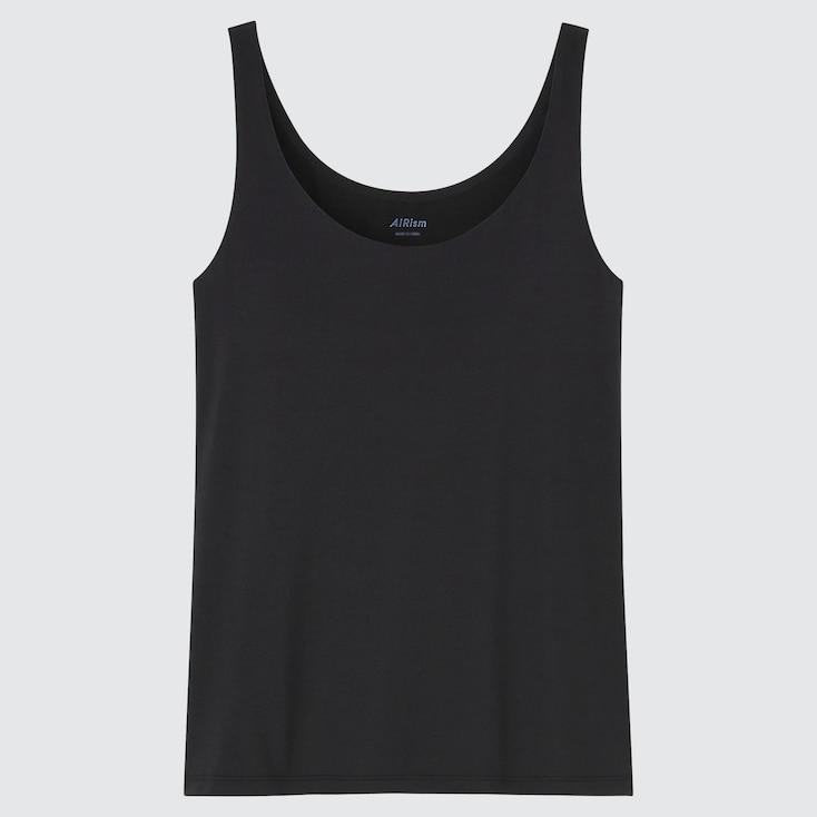 Women Airism Sleeveless Bra Top, Black, Large
