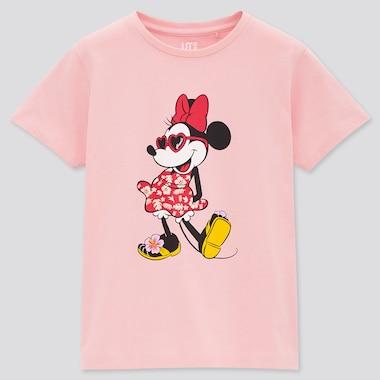 Kids Magic For All Icons Hawaii Ut (Short-Sleeve Graphic T-Shirt), Pink, Medium