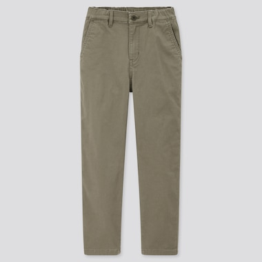 Kids Ultra Stretch Regular-Fit Zip-Fly Chino Pants (Online Exclusive), Olive, Medium