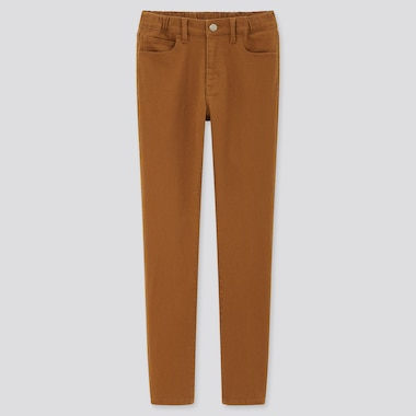 Kids Ultra Stretch Slim-Fit Zip-Fly Pants (Online Exclusive), Brown, Medium