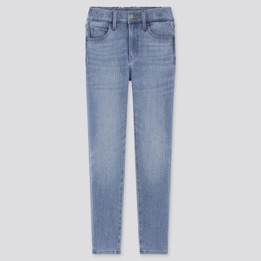 Kids HEATTECH Ultra Stretch Denim Slim Fit Zip Fly Trousers
