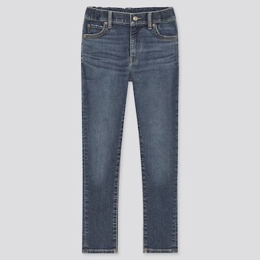 Kids Ultra Stretch Denim Slim Fit Trousers