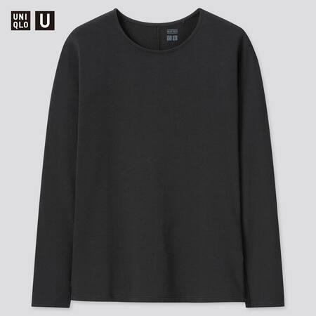 Damen UNIQLO U HEATTECH Baumwoll Langarmshirt (Thermounterwäsche)
