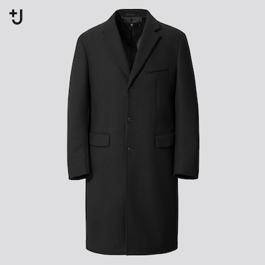 Men +J Wool Blend Chesterfield Coat