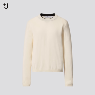 Women +J Fine Gauge Cashmere Crew Neck Jumper