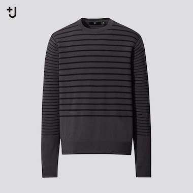 Men +J Merino Blend Crew Neck Jumper