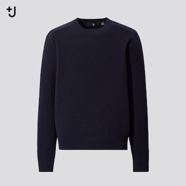 Men +J Cashmere Blend Crew Neck Jumper