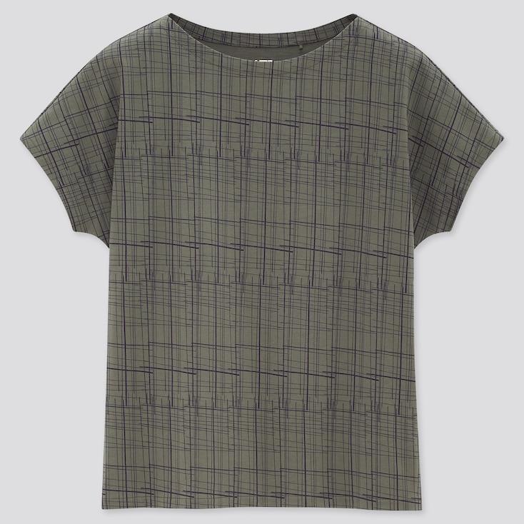 Women Art Of Textile Ut (Short-Sleeve Graphic T-Shirt), Green, Large