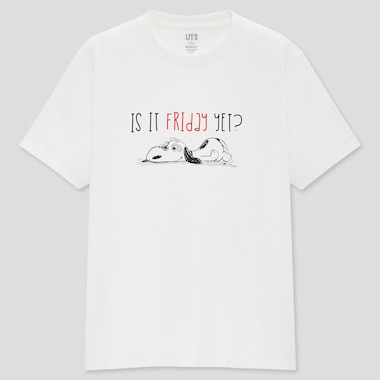 T-Shirt UT Stampa Peanuts Donna