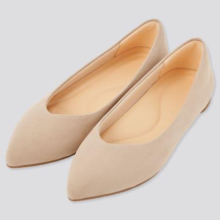 Damen Flache Comfeel Schuhe mit Spitze