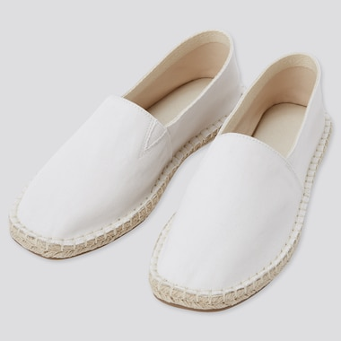 Women Espadrilles, Off White, Medium