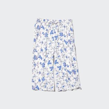 Jupe-Culotte Imprimé Fleurs Femme