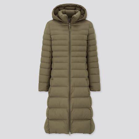 Women Ultra Light Down Long Coat