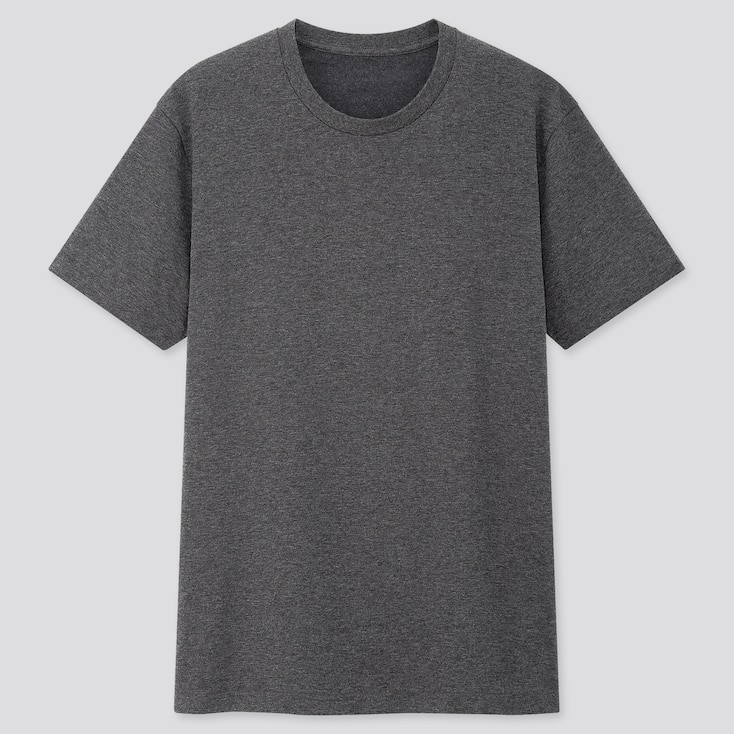 DRY CREW NECK SHORT-SLEEVE COLOR T-SHIRT