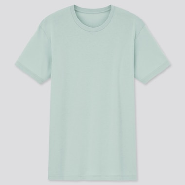Men Dry Color Crew Neck Short-Sleeve T-Shirt,                                                                                     Green, Medium