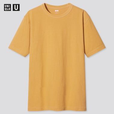Men Uniqlo U Crew Neck Short Sleeved T-Shirt