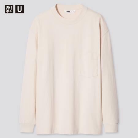 Uniqlo U Crew Neck Long Sleeved T-Shirt