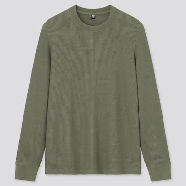 Camiseta Textura Cuello Redondo Hombre