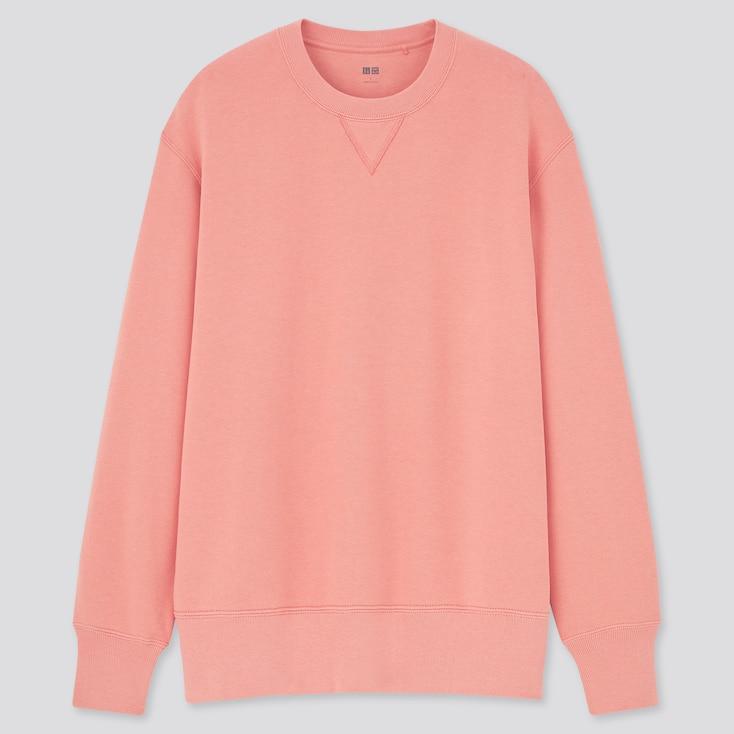 Long-Sleeve Sweatshirt, Pink, Large