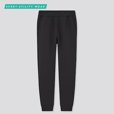 Men Ultra Stretch Dry Sweatpants, Black, Medium