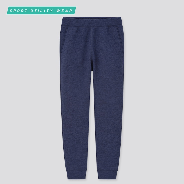 Men Ultra Stretch Dry Sweatpants, Navy, Large