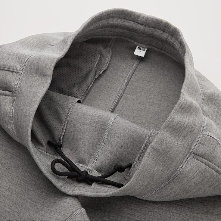 Men Ultra Stretch Dry Sweatpants, Dark Gray, Large
