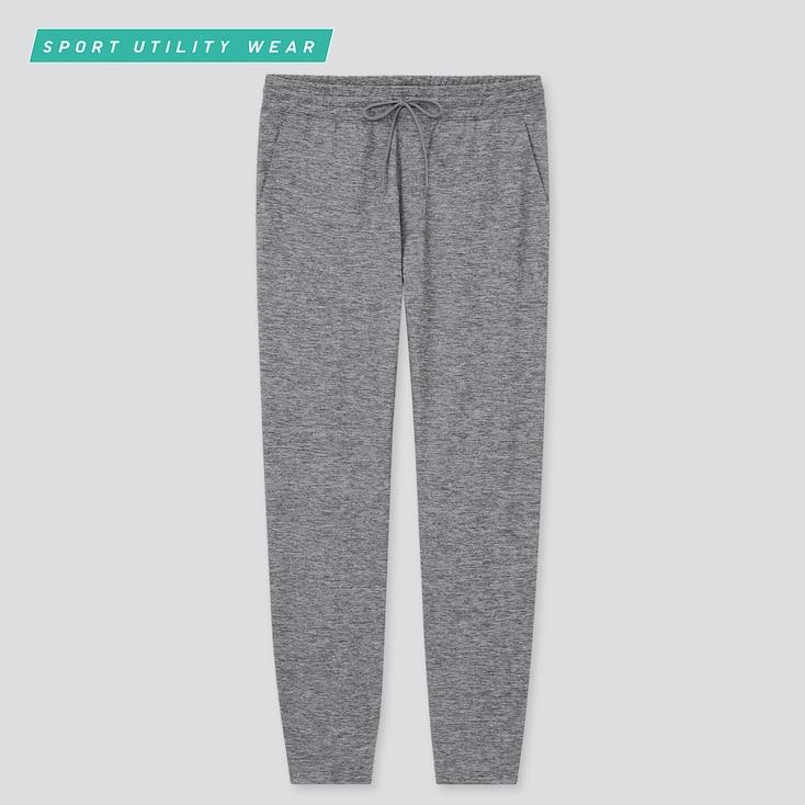 Men Ultra Stretch Active Jogger Pants, Gray, Large