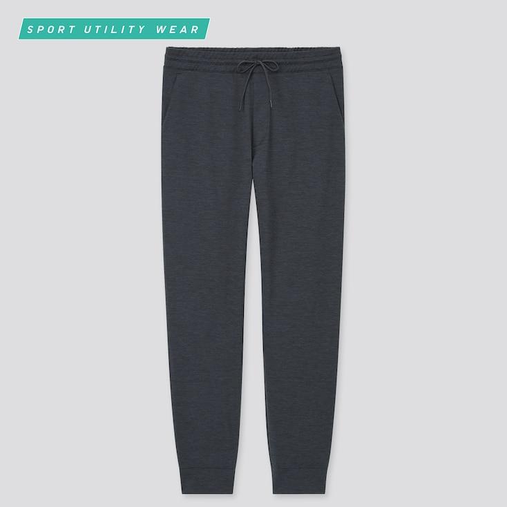 Men Ultra Stretch Active Jogger Pants, Dark Gray, Large