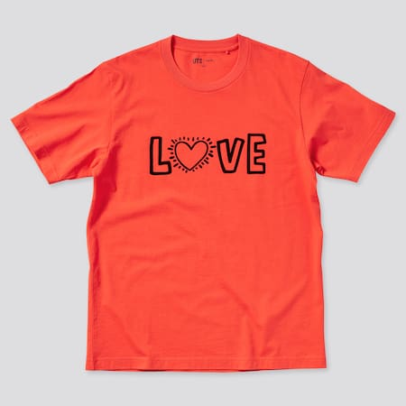 Men Keith Haring UT Graphic T-Shirt