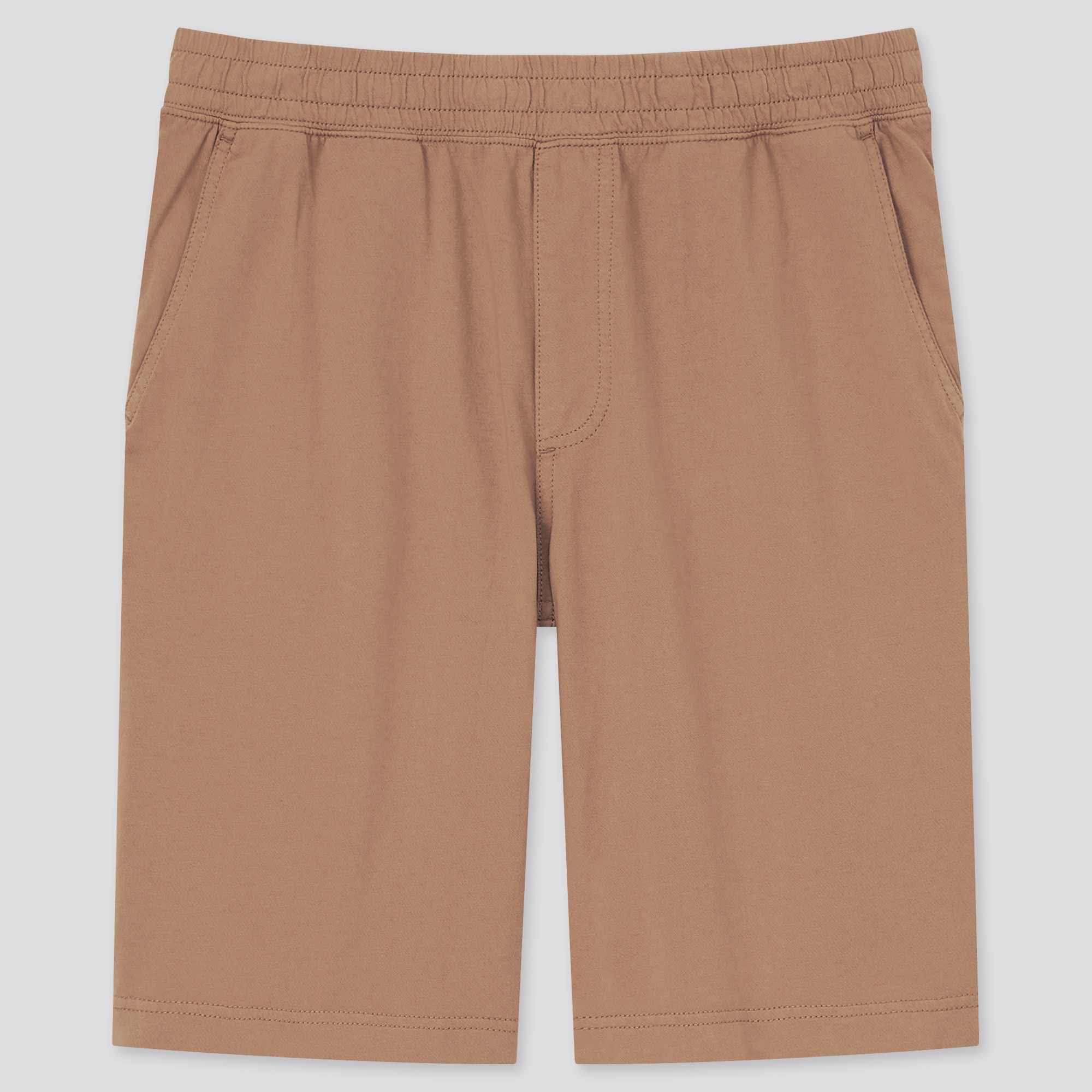 MEN WASHED JERSEY EASY SHORTS