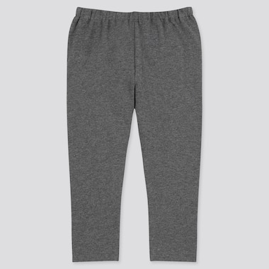 Baby Full-Length Leggings, Dark Gray, Medium