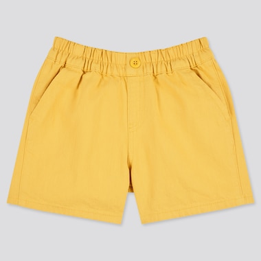 Toddler Easy Shorts, Yellow, Medium