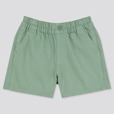 Toddler Easy Shorts, Green, Medium