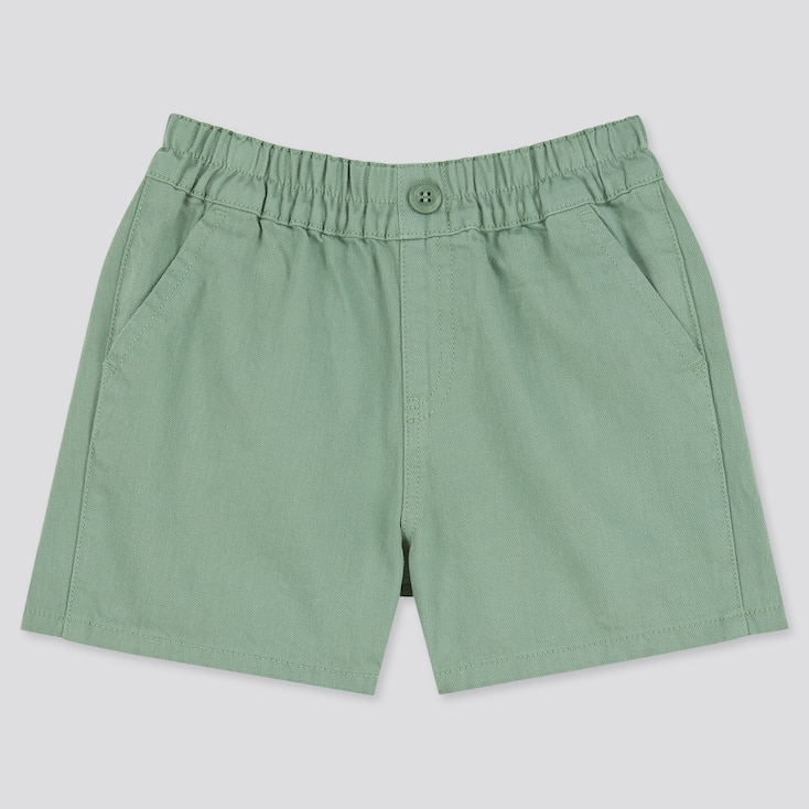 Toddler Easy Shorts, Green, Large