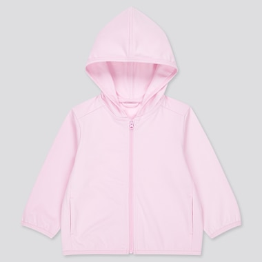 Toddler Airism Uv Protection Mesh Long-Sleeve Hoodie (Online Exclusive), Pink, Medium
