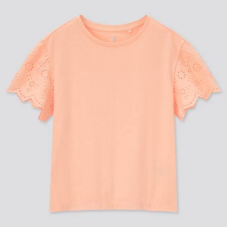 Kids Lace Short Sleeved T-Shirt