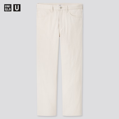 Men U Regular-Fit Jeans, Off White, Medium