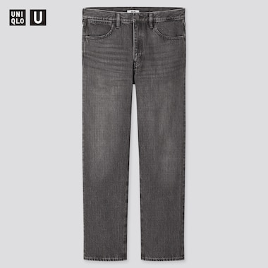 Men U Regular-Fit Jeans, Dark Gray, Medium