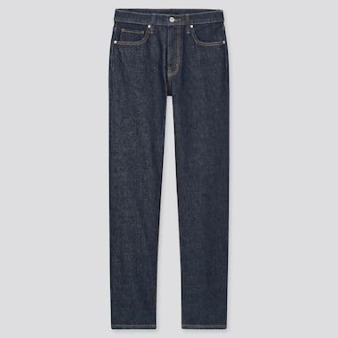Women Slim Straight High-Rise Jeans, Navy, Medium