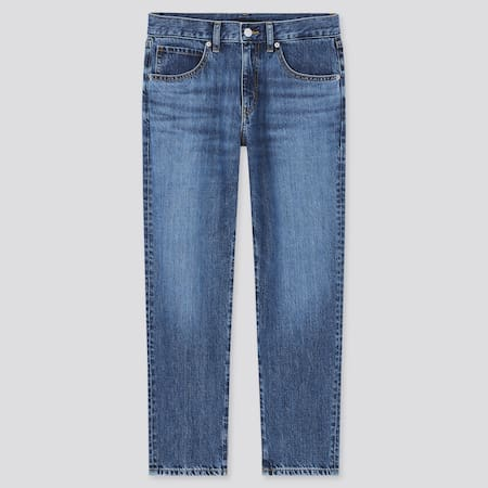 Women Mid Rise Relaxed Fit Tapered Jeans