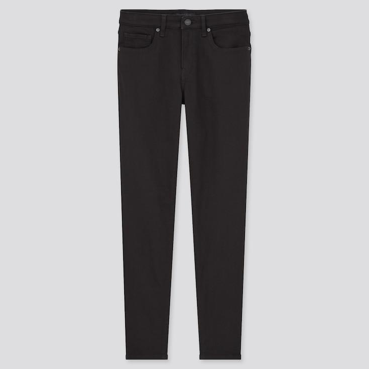 Women Ezy Slim-Fit Jeans, Black, Large