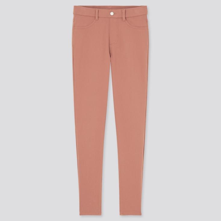 Women Ultra Stretch Leggings Pants, Pink, Large